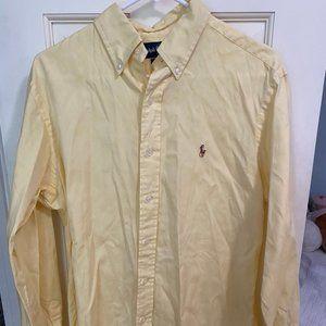 Yellow Ralph Lauren Dress Shirt